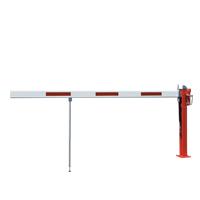Schlagbaum WES 31 mit Gasdruckfeder rot/weiß zum Aufdübeln mit Pendelstütze
